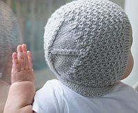 Vintage-Style Baby Bonnet - free - Ravelry : http://www.ravelry.com/patterns/library/modern-baby-bonnet