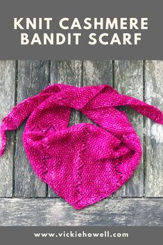 Lacy Bandit Scarf by Knitting Blogs, Lace Knitting, Knitting Patterns, Cashmere Yarn, Seed Stitch, Pattern Design, Shawls, Color, Accessories