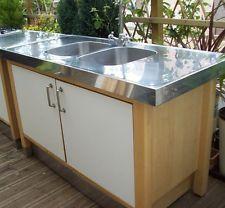 Ikea Varde Kitchen Freestanding Stainless Steel Double Sink