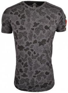 Gabbiano Picassa T-Shirt Antraciet , Roberto-Romero