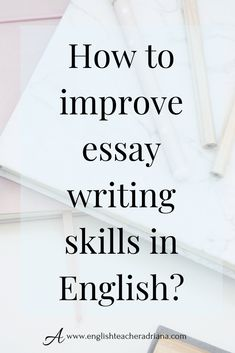 How to improve your English Writing Skills? Learn how to improve your writing skills in English using these 3 tips. Click the link below to watch the full video lesson Essay Writing Skills, Ielts Writing, Easy Writing, English Writing Skills, Writing Tips, Writing Activities, Improve English Writing, Improve English Speaking, Improve Your English