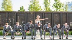A May rooftop wedding at The Bridge Building Event Spaces. | Wedding Ideas | Event Space | Event Planner | Event Planning Business | Event Decor