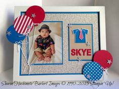 Something for Baby Skye frame Baby Scrapbook, Scrapbook Pages, Scrapbooking, Baby Kids, Baby Boy, Little Ones, 3 D, Stampin Up, Layouts