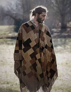 Image result for poncho made from old sweaters