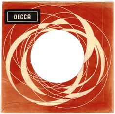 vintage: great poppy/op art feel to this 60's Belgian Decca sleeve