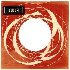 vintage: great poppy/op art feel to this 60's Belgian Decca sleeve