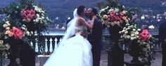 """John #Legend and Chrissy Teigen's Lake Como wedding was romance all the way, with three wedding dresses and a special serenade of """"All of Me"""" from the groom."""