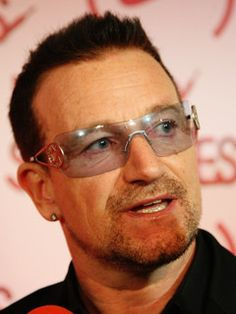 Bono. For his actions and influences.