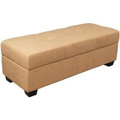 Vanderbilt Ottoman Upholstery: Suede Khaki - http://delanico.com/ottomans/vanderbilt-ottoman-upholstery-suede-khaki-590561343/