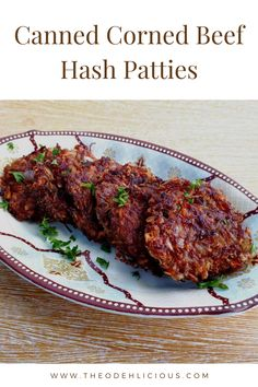 Corned Beef Hash Patties Recipe, Canned Corned Beef Recipe, Roast Beef Hash, Corned Beef Recipes, Beef Recipes For Dinner, Meat Recipes, Corn Beef Hash, Curry Recipes
