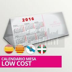 Calendario Mesa LOWCOST desde 1.000 u