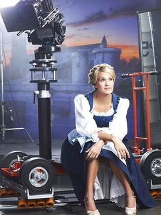 Carrie Underwood Gets Ready for Her Close-Up in New Sound of Music Promo Shot
