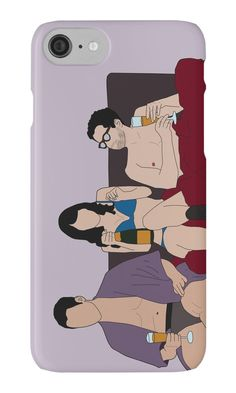 « Lito, Daniela & Hernando in bed » par byebyesally