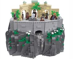 LEGO Lord of the Rings Elrond http://thebrickblogger.com/2012/09/the-best-lego-lord-of-the-rings-dioramas/
