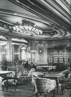 1st Class Library on the Titanic
