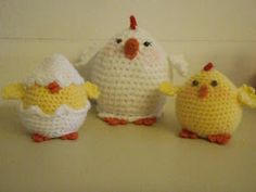 Hen, Chicken and Egg Amigurumi - FREE Crochet Pattern and Tutorial