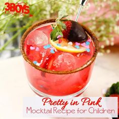 Pin46 Tweet Share +1 Share StumbleThis Pretty in PinkMocktail Recipe is a fun pink color that is perfect for a Valentine's Day party for your kids or their classmates. I also think it would bea fun addition to a Wedding Reception or Baby Girl Baby Shower! Can't you see that? My kids love for me […]