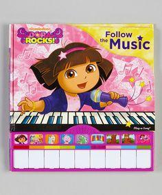 Dora the Explorer Dora Rocks: Follow the Music Board Book | zulily