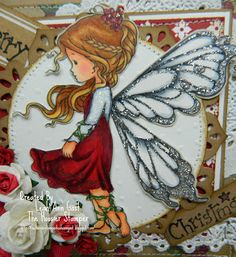 wee stamps silver fairy - Google Search###