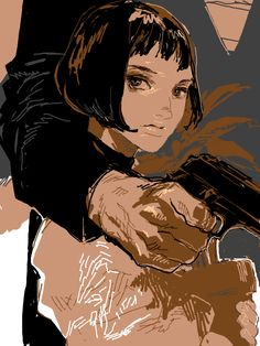 The Professional - Mathilda by Tegaki ✤ || CHARACTER DESIGN REFERENCES | キャラクターデザイン • Find more at https://www.facebook.com/CharacterDesignReferences if you're looking for: #lineart #art #character #design #illustration #expressions #best #animation #drawing #archive #library #reference #anatomy #traditional #sketch #development #artist #pose #settei #gestures #how #to #tutorial #comics #conceptart #modelsheet #cartoon || ✤