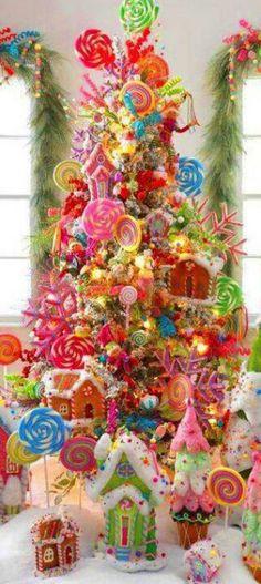 Edible Christmas tree - Amazing!