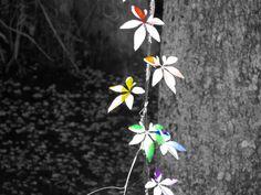 Rainbow Leaves  Various Sizes  Lustre Print  by PrintsbyLuciaJade, $8.00