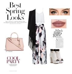 """Untitled #35"" by frappuci on Polyvore featuring Alice + Olivia, Soaked in Luxury, Michael Kors and H&M"