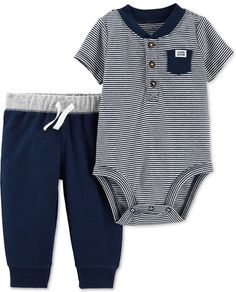 IZOD Baby Infant Boy jumpsuit clothes outfits bodysuit cotton newborn rompers
