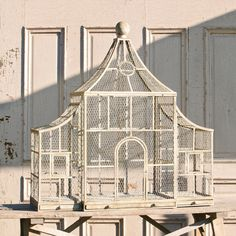 Park Hill Collection, The bird cage is equally a property for the birds and a decorative tool. You are able to choose anything you want on the list of bird cage models and get a great deal more unique images. Antique Bird Cages, Large Bird Cages, Park Hill Collection, Gazebo, Pet Bird Cage, Chicken Cages, Bird Aviary, Arched Doors, Rustic Outdoor