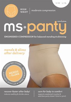 MS-Panty High Waist Postpartum Recovery & Slimming Underwear