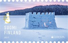 EUROPA Stamp competition results announced. Three winning entries were chosen by the jury – World Stamp News Lapland Finland, Top Of The World, Stamp Collecting, Mail Art, Four Seasons, Postage Stamps, Competition, Castle, Nostalgia