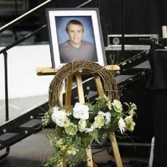 Aaron honored at graduation.  We miss you and love you!