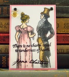 ACEO - Jane Austen Quote from Emma - Collage Art Card ATC