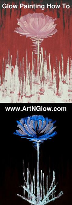 By now you may have seen some viral videos showing canvas paintings that transform at night with the magic ofglow in the dark on YouTube or Facebook. These images are indeed magical, and in fact, anyone can enjoy creating their own glow in the dark works