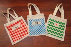 Student Book Bags/Bins by BagsbyJillJ on Etsy, $2.99
