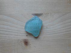 Vetro di mare autentico sea glass goffrato 1 di lepropostedimari
