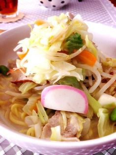 Junk Food, Japanese Food, Copycat Recipes, Asian Recipes, Noodles, Cabbage, Pasta, Meat, Chicken