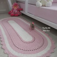 Discount Carpet Runners By The Foot Crochet Doily Rug, Crochet Rug Patterns, Crochet Carpet, Crochet Bobble, Diy Carpet, Rugs On Carpet, Mandala Rug, Crochet T Shirts, Fabric Flowers