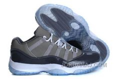 http://www.jordanaj.com/cheap-nike-air-jordan-11-low-mens-shoes-gray.html CHEAP NIKE AIR JORDAN 11 LOW MENS SHOES GRAY Only $94.00 , Free Shipping!