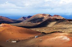 dokispeak originally shared this post: The Timanfaya in Lanzarote is a landscape created by a volcanic eruption that covered around a third of the island. Connect with nature and feel the heat of the dormant volcano as you hike through the martian-like landscape of the Montañas del Fuego (Fire Mountains). Download DokiIberian Spanish for only $7.99 and explore theTimanfaya National Park.  More photos from dokispeak