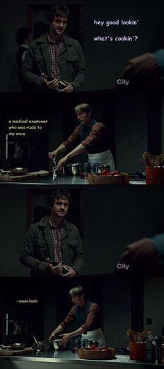 Hannibal, I mean lamb