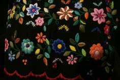 Bordado floral