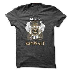 Awesome Tee ZUMWALT Never Underestimate T shirts