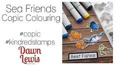 Dawn Lewis - YouTube Copic Markers, Copics, Cardmaking, Dawn, Coloring, Stamp, Pure Products, Crafty, Youtube