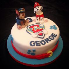 Paw Patrol Themed Cake - Cake by Caron Eveleigh