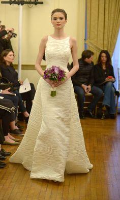 Peter Langner Fall/Winter 2016 | https://www.theknot.com/content/peter-langner-wedding-dresses-bridal-fashion-week-spring-2017