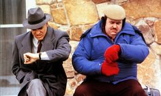 'Is it that time of year already?': Steve Martin and John Candy in Planes, Trains and Automobiles