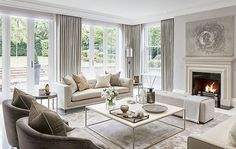 There are many elegant living room ideas that you might decide to get applied in your living room design. Because you have landed here then most probably you want Elegant living room answer. French Living Rooms, French Country Living Room, Elegant Living Room, Formal Living Rooms, Contemporary Living Room Decor Ideas, Living Spaces, Country French, Small Living, Modern Decor