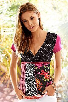 Women's Tops - Heine Print Top...$90 Ezibuy
