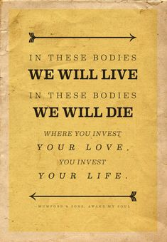 dying to live or living to die?